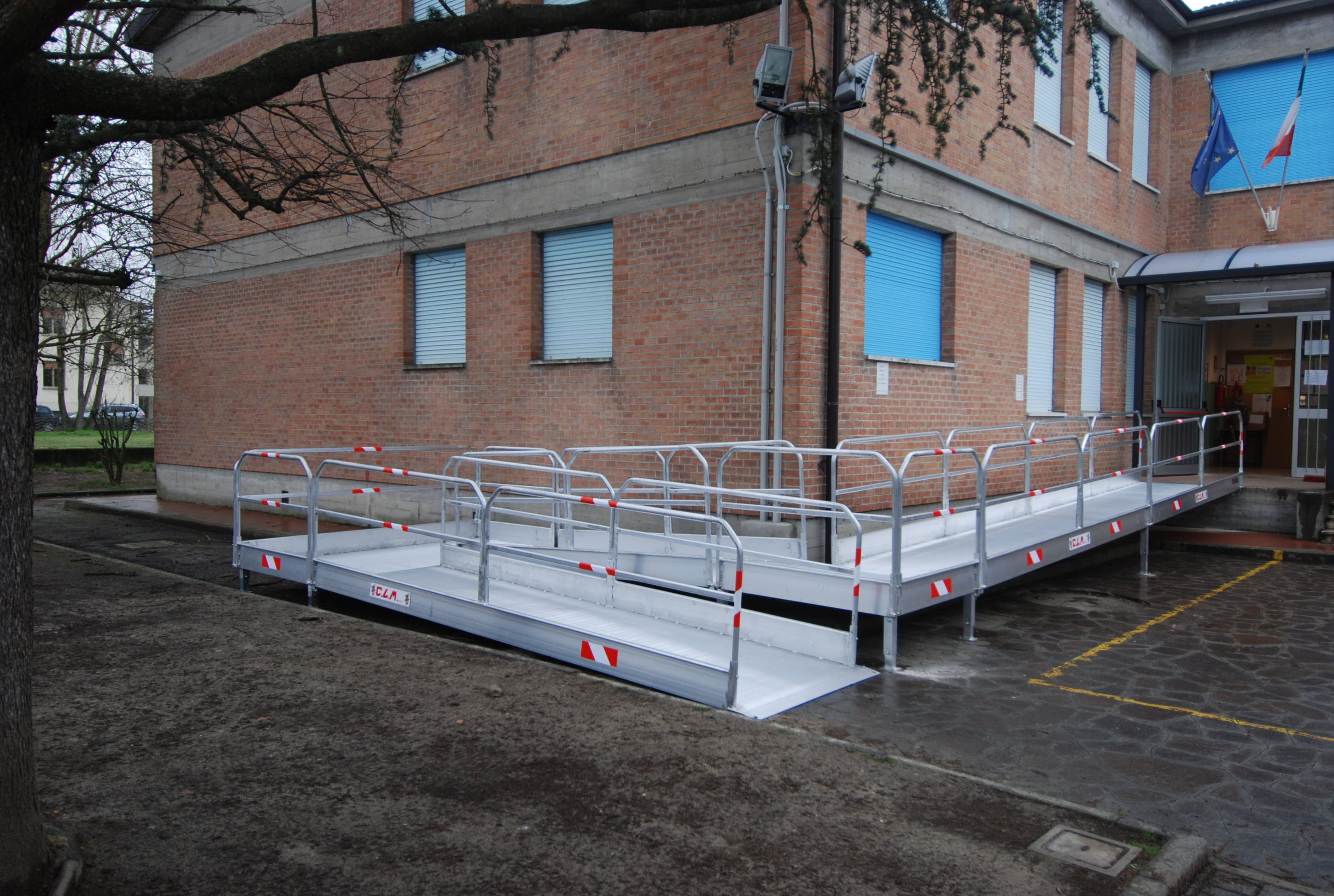 Ramp For Disabled People Aluminium Loading Systems